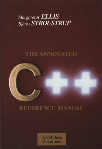 9780201514599: The Annotated C++ Reference Manual