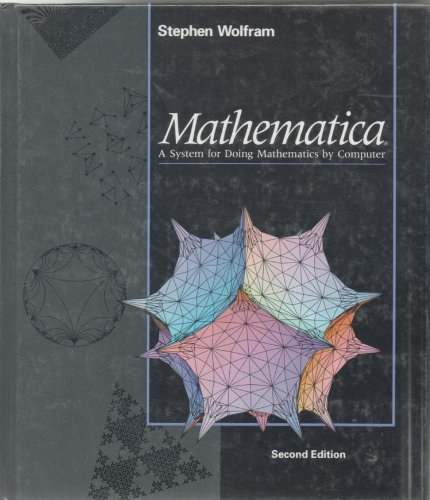 9780201515022: Mathematica: A System for Doing Mathematics by Computer
