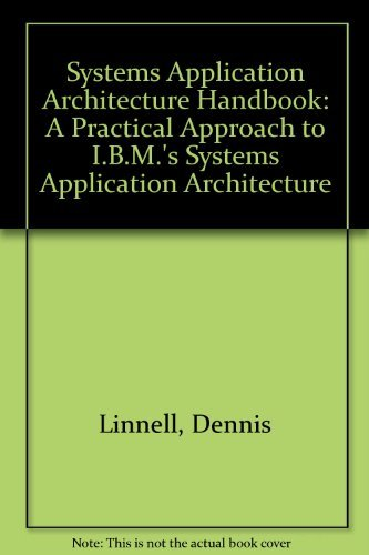 9780201517866: The Saa Handbook: A Practical Approach to IBM's System Application Architecture