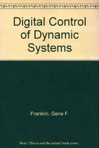 9780201518849: Digital Control of Dynamic Systems