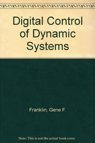 9780201518849: Digital Control of Dynamic Systems