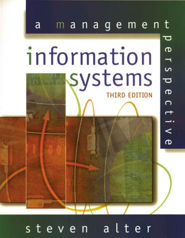 9780201521085: Information Systems: A Management Perspective (World Student)