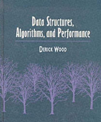 9780201521481: Data Structures, Algorithms, and Performance