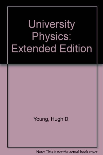 9780201521962: University Physics: Extended Edition