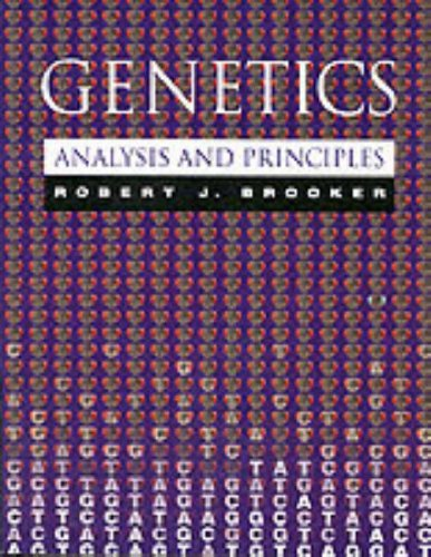 9780201522563: Genetics: Analysis and Principles (World Student)