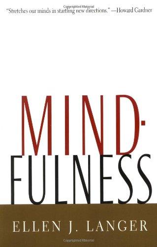 9780201523416: Mindfulness (A Merloyd Lawrence Book)