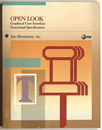 9780201523652: Open Look Graphical User Interface Functional Specification