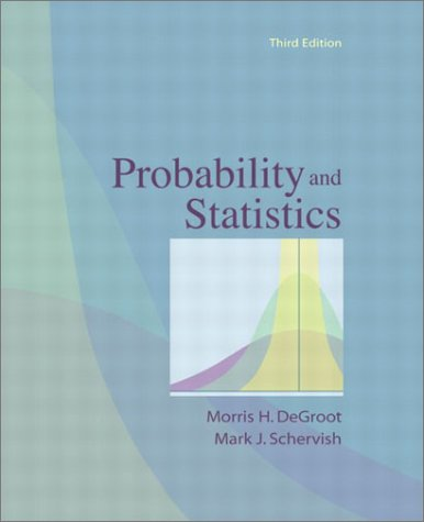 9780201524888: Probability and Statistics