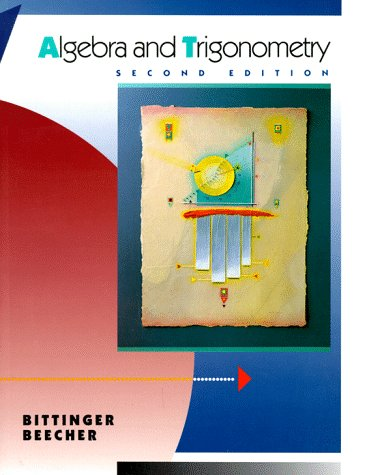 9780201525106: Algebra and Trigonometry, Right Triangle (2nd Edition)