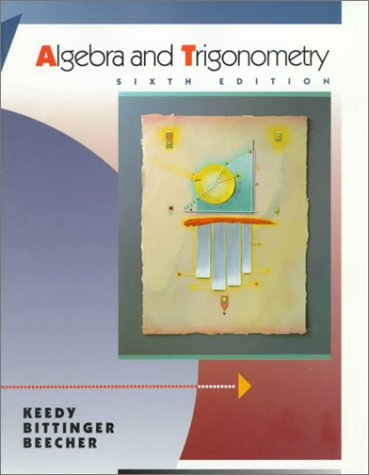 9780201525175: Algebra and Trigonometry, Unit Circle (6th Edition)