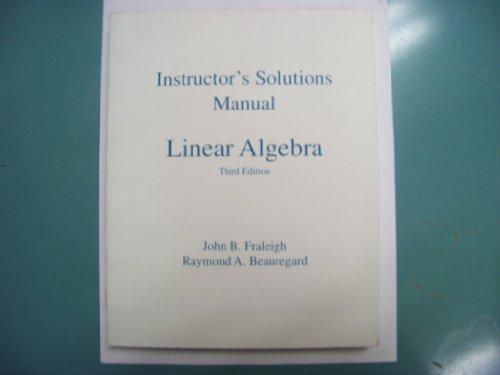 9780201526769: Linear Algebra