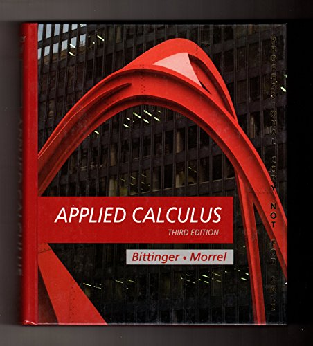 9780201529845: Applied Calculus