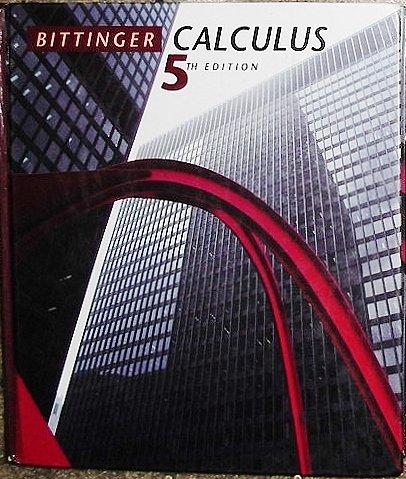 9780201530568: Calculus