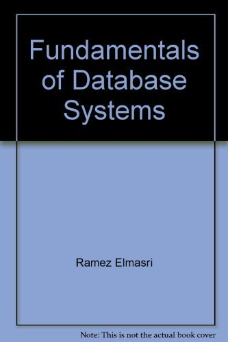 9780201530902: Fundamentals of Database Systems