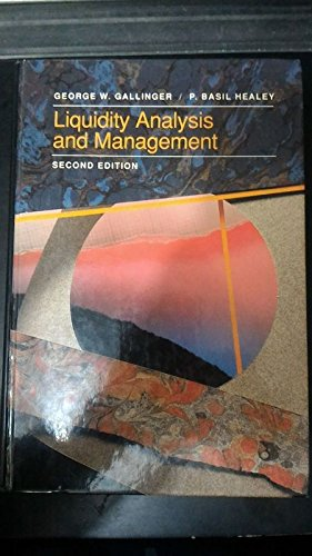 9780201535334: Liquidity Analysis and Management