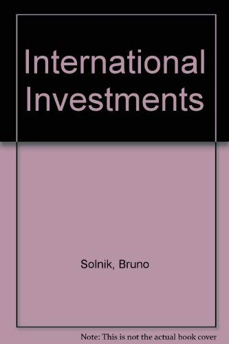 9780201535358: International Investments