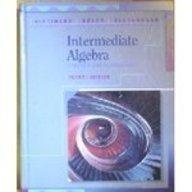 9780201537864: Intermediate Algebra: Concepts and Applications