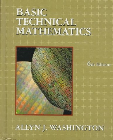 9780201542387: Basic Technical Mathematics