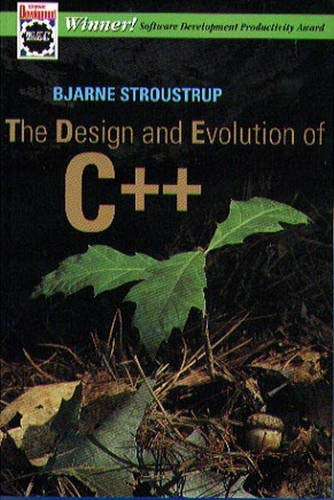 9780201543308: Design and Evolution of C++, The