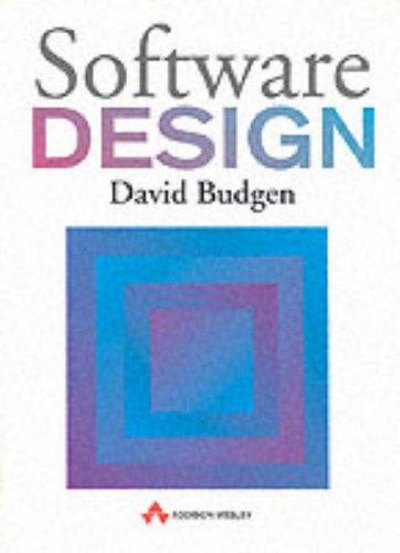 9780201544039: Software Design (International Computer Science)