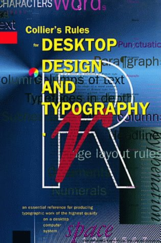 Rules for Desktop Design (0201544164) by Collier, David