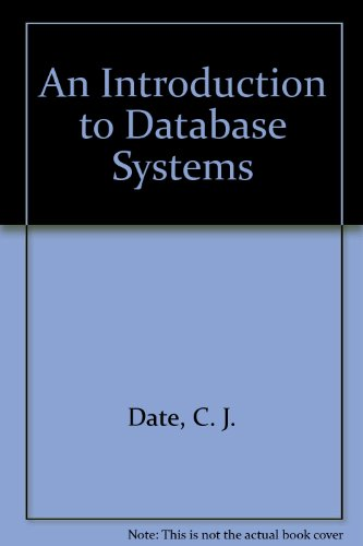9780201547320: An Introduction to Database Systems