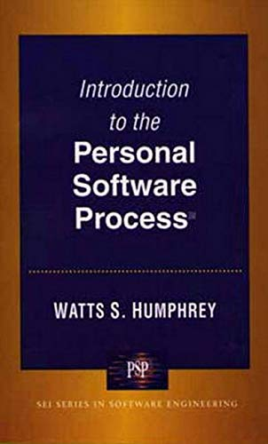 9780201548099: Introduction to the Personal Software Process(sm)