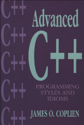 9780201548556: Advanced C++ Programming Styles and Idioms (Society and Culture in East-Central)