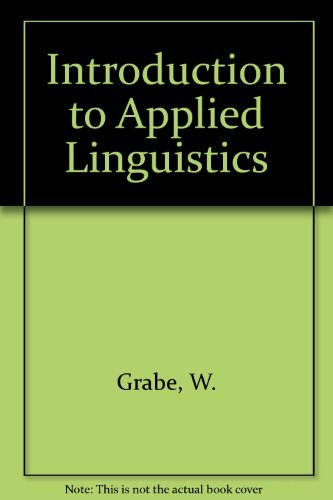 Introduction to Applied Linguistics: Grabe, W.; Kaplan, R. (eds.)