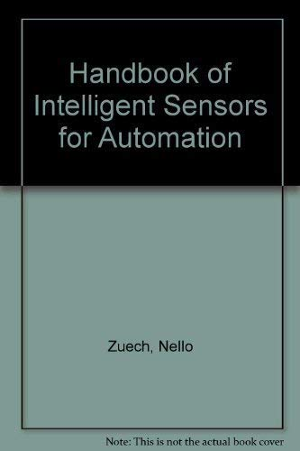 9780201550221: Handbook of Intelligent Sensors for Industrial Automation