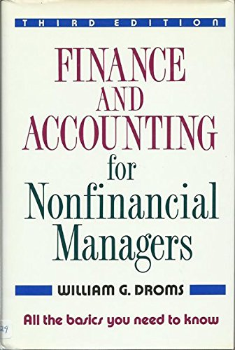 9780201550375: Finance & Accounting for Nonfinancial Managers