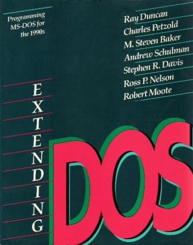 9780201550535: Extending DOS