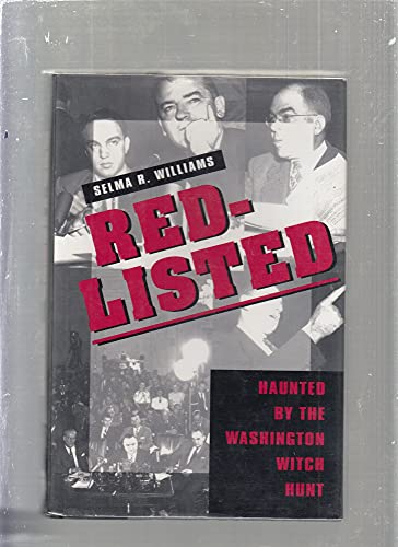 9780201550696: Red-Listed: Haunted by the Washington Witch Hunt