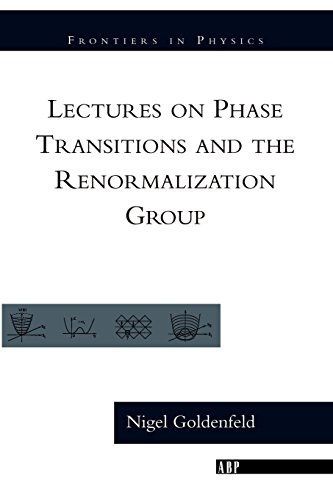 9780201554090: Lectures On Phase Transitions And The Renormalization Group (Frontiers in Physics)
