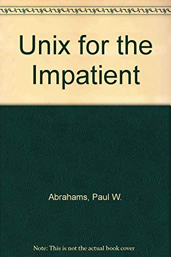 9780201557039: Unix for the Impatient