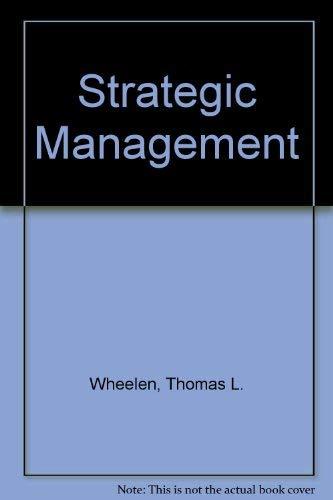 Strategic Management: Hunger, J. David,