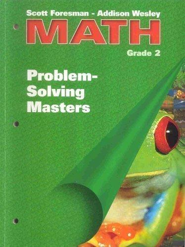 9780201560329: Scott Foresman - Addison Wesley Math Grade 2: Problem Solving Masters