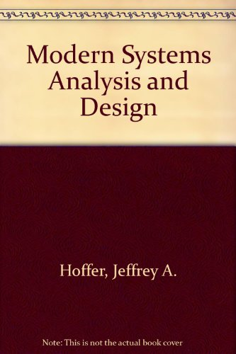 9780201561104: Modern Systems Analysis and Design