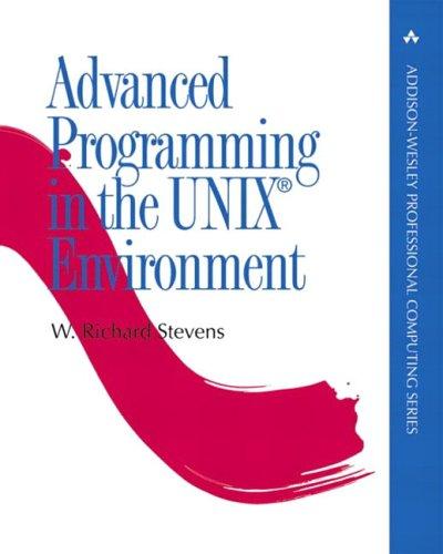 9780201563177: Advanced Programming in the UNIX Environment (APC)