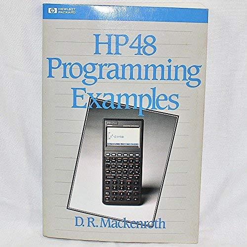 9780201563252: Hp 48 Programming Examples (Hewlett Packard Press Series)