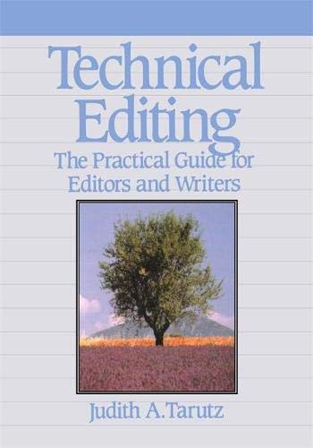 9780201563566: Technical Editing: The Practical Guide For Editors And Writers (Hewlett-Packard Press)