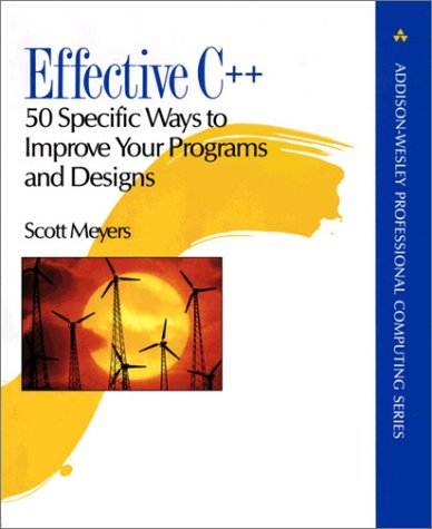 9780201563641: Effective C++: 50 Specific Ways to Improve Your Programs and Designs