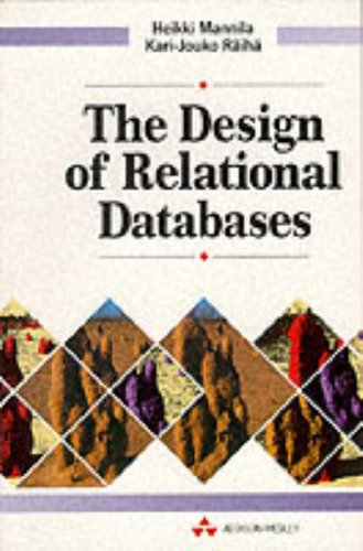 9780201565232: The Design of Relational Databases