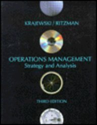 9780201566307: Operations Management: Strategy and Analysis