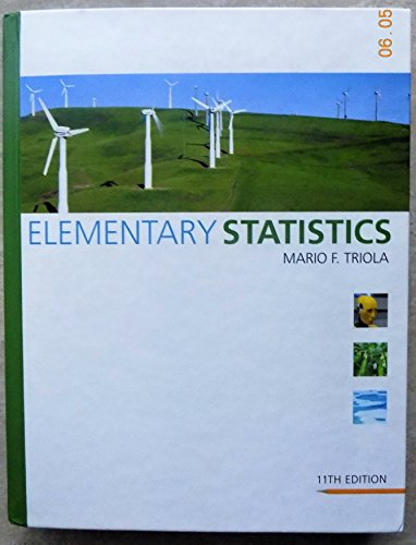 9780201566406: Elementary Statistics