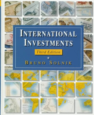 9780201567076: International Investments