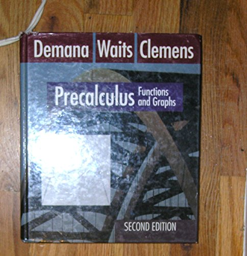 9780201567311: Precalculus: Functions and Graphs