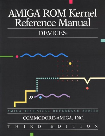 9780201567755: Amiga ROM Kernel Reference Manual: Devices (3rd Edition)