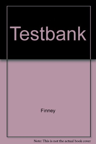 9780201569100: Printed Test Bank: Calculus Graphical, Numerical, Algebraic, (Single Variable Version)