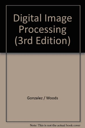 9780201569445: Solutions Manual to Digital Image Processing 3e